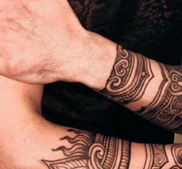 Татуировки вокруг руки