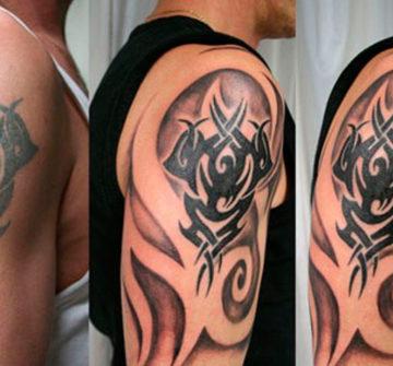Интересные способы перекрытия татуировок