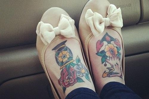 Стоит ли делать татуировки на ногах