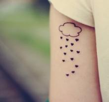 Татуировки дождя