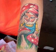 Татуировки с гномами