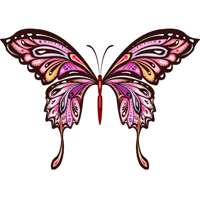 Эскиз татуировки бабочки (13)
