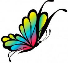 Эскиз татуировки бабочки (6)