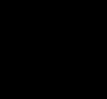 Эскиз символа водолея и девушки с кувшином