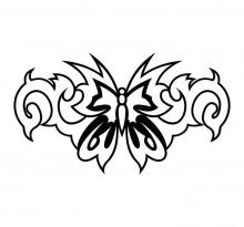 Эскиз татуировки бабочки (51)