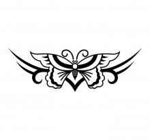 Эскиз татуировки бабочки (50)