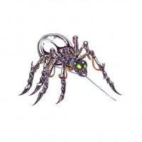 Эскиз биомеханического паука
