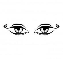 Эскиз пары глаз