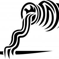 Эскиз символа водолея