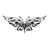 Эскиз татуировки бабочки (106)