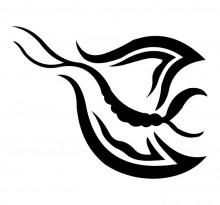 Эскиз татуировки бабочки (57)