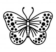 Эскиз татуировки бабочки (59)