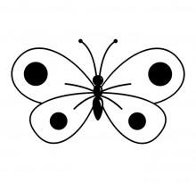 Эскиз татуировки бабочки (60)