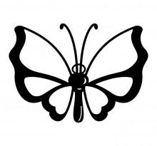 Эскиз татуировки бабочки (62)