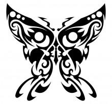 Эскиз татуировки бабочки (63)
