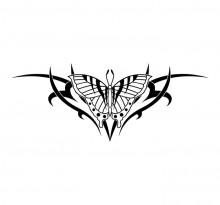 Эскиз татуировки бабочки (74)