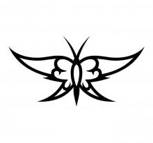 Эскиз татуировки бабочки (75)