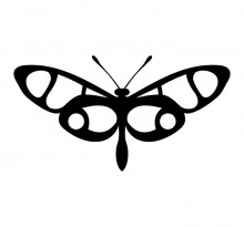 Эскиз татуировки бабочки (79)