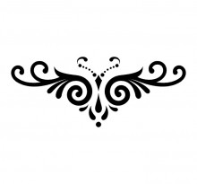 Эскиз татуировки бабочки (83)