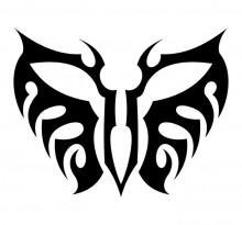 Эскиз татуировки бабочки (89)