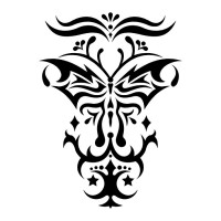 Эскиз татуировки бабочки (97)