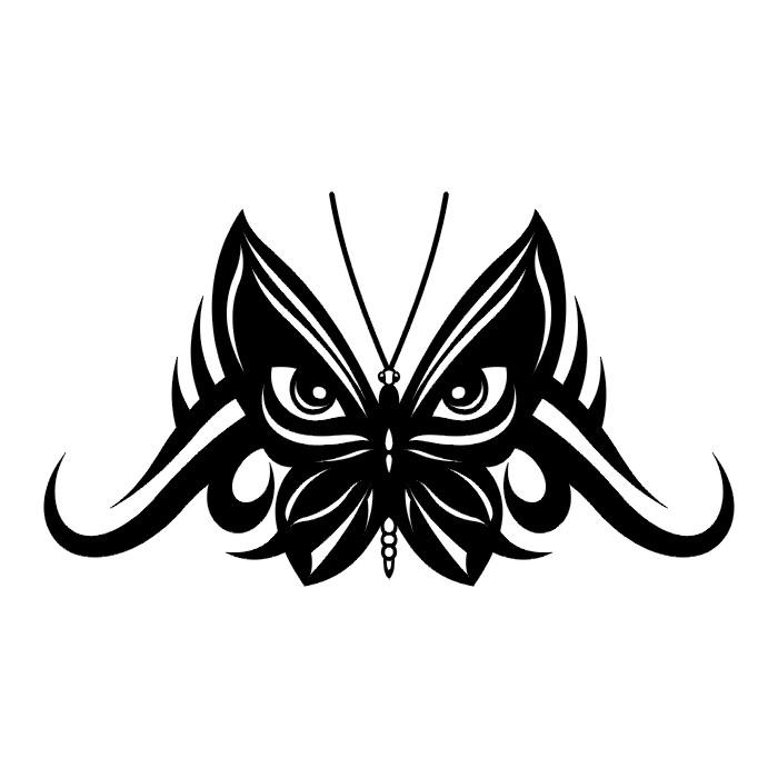Эскиз татуировки бабочки (52)