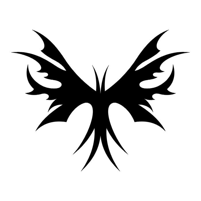 Эскиз татуировки бабочки (105)