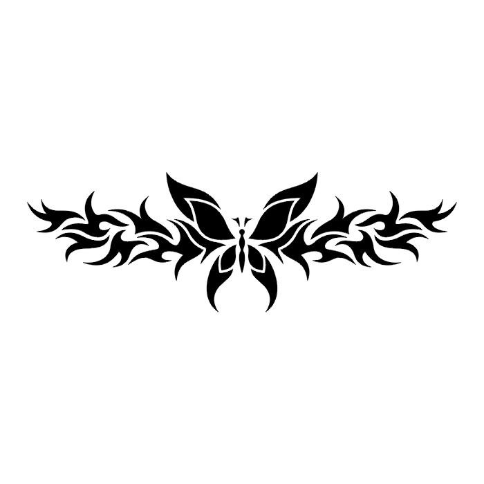 Эскиз татуировки бабочки (107)