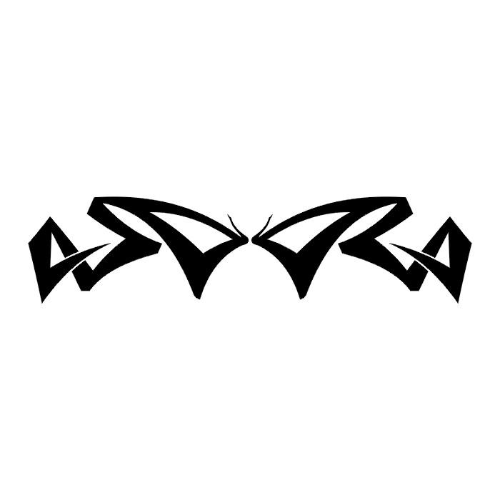 Эскиз татуировки бабочки (108)