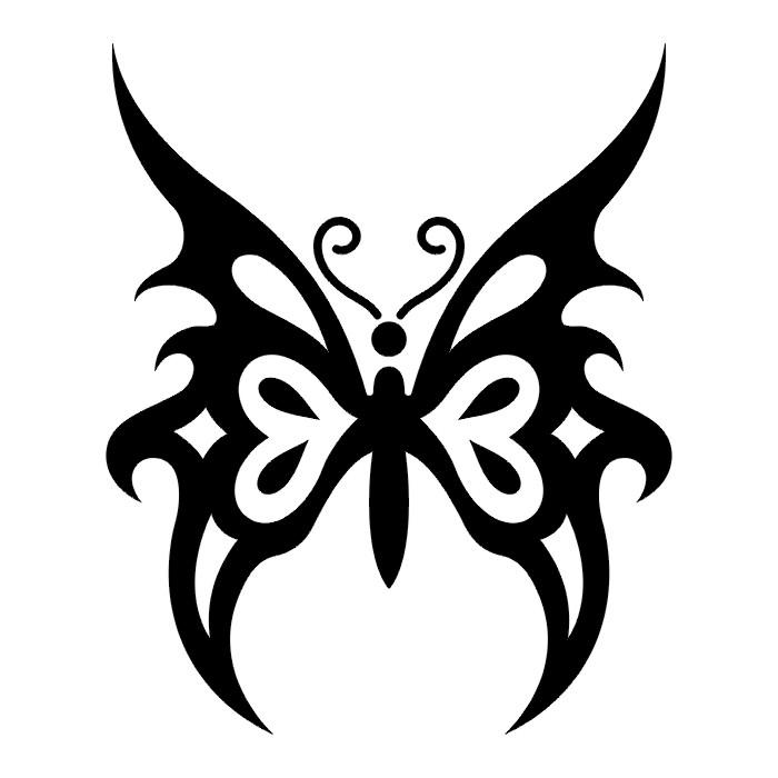 Эскиз татуировки бабочки (72)