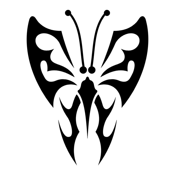 Эскиз татуировки бабочки (88)