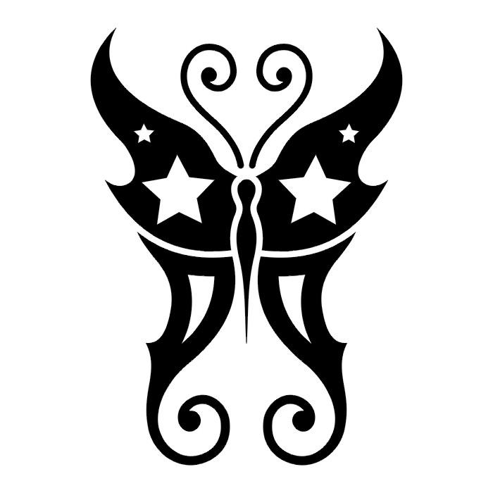 Эскиз татуировки бабочки (94)