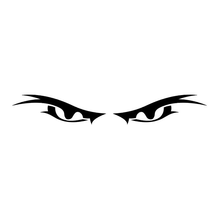 Пара злых глаз (эскиз)