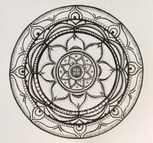 Эскиз татуировки Мандала (121)