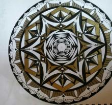 Эскиз татуировки Мандала (134)