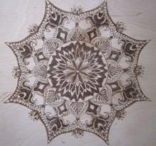 Эскиз татуировки Мандала (14)