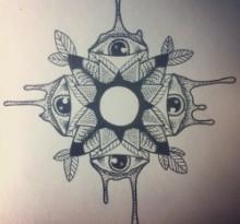 Эскиз татуировки Мандала (141)
