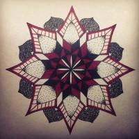 Эскиз татуировки Мандала (147)