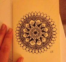 Эскиз татуировки Мандала (20)