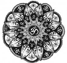 Эскиз татуировки Мандала (26)
