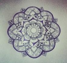 Эскиз татуировки Мандала (28)