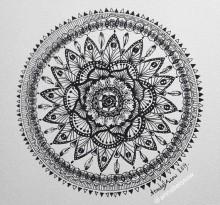 Эскиз татуировки Мандала (53)