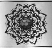 Эскиз татуировки Мандала (62)