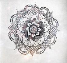 Эскиз татуировки Мандала (94)