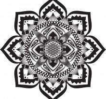 Эскиз татуировки Мандала (95)