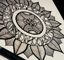 Эскиз татуировки Мандала (97)
