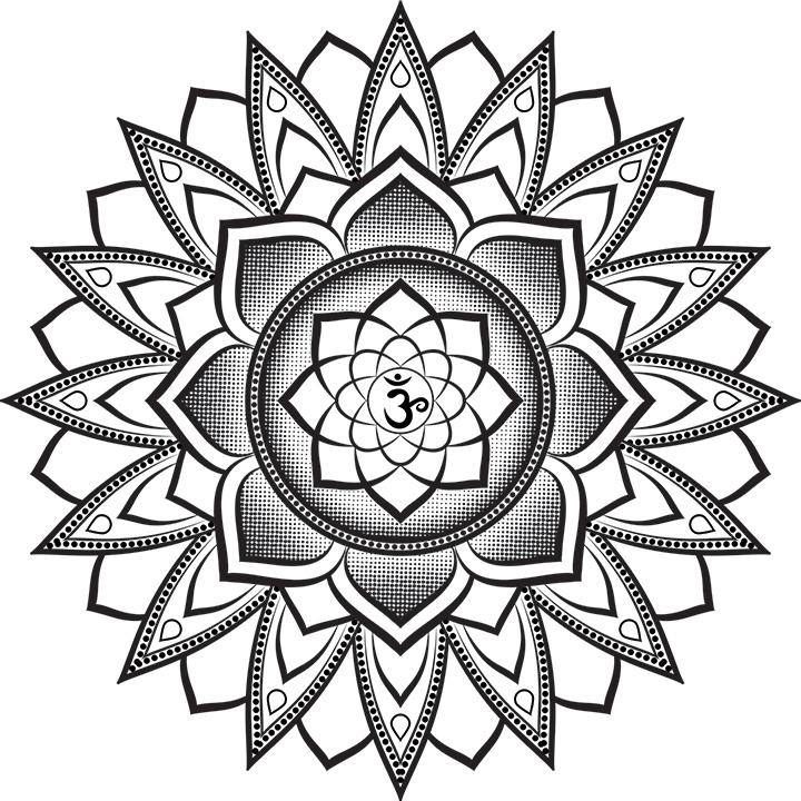Эскиз татуировки Мандала (18)