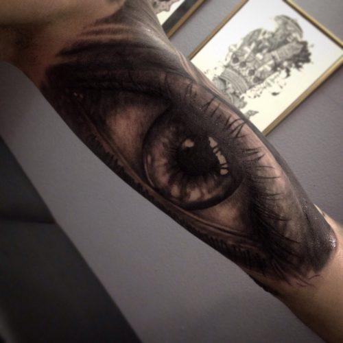 Татуировки глаз