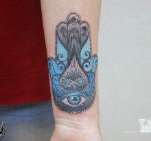 Символ Хамса с глазом внутри