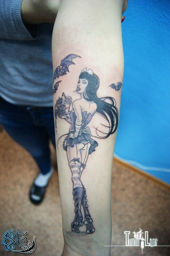 Татуировка на плече для девушек фото 168